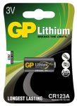 Batteri CR123A Lithium 3V